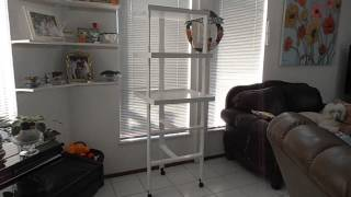 African Violet Plant Stand Build
