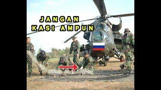 APACHE TNI EMBARGO!! MISI TUMPAS TNI Bisa Terjunkan Helikopter Serbu MI 35 Rusia ke Timur Indonesia