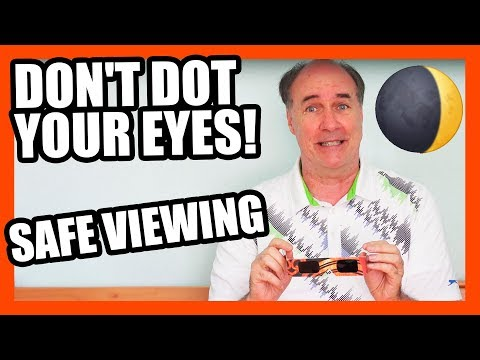 Eclipse Glasses Sold Out?- Safe Eclipse Viewing   EpicReviewGuys