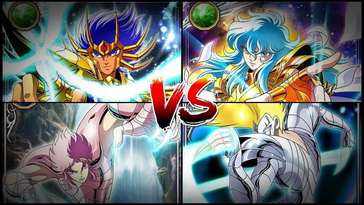 Mascara mortal vs Astaroth y Afrodita vs Eligor - El poder de los caídos