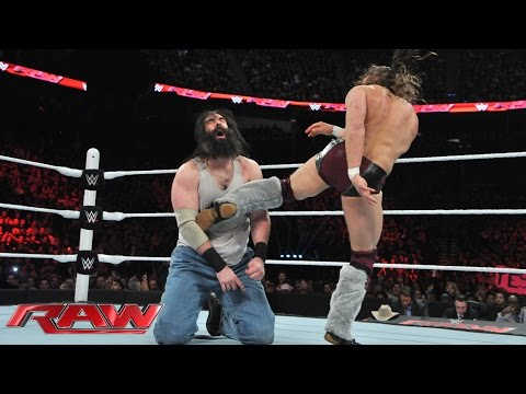 Daniel Bryan vs. Luke Harper: Raw, March 2, 2015