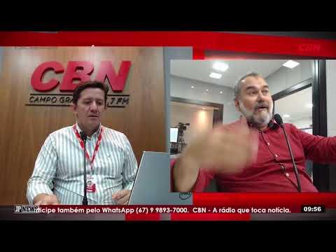 Entrevista CBN Campo Grande: Humberto Amaducci (PT), pré-candidato ao Governo de MS