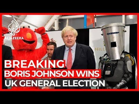 Al Jazeera English: Boris Johnson scores landslide win in UK general election