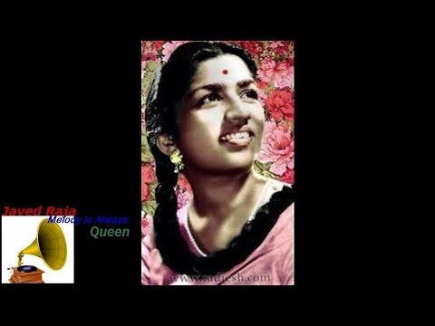 LATA JI-Film-AAIYE-[1949]-Itani Badi Duniya Mein Nahin Koyi Hamara-[ H Q High Bass 78 RPM Sound ]