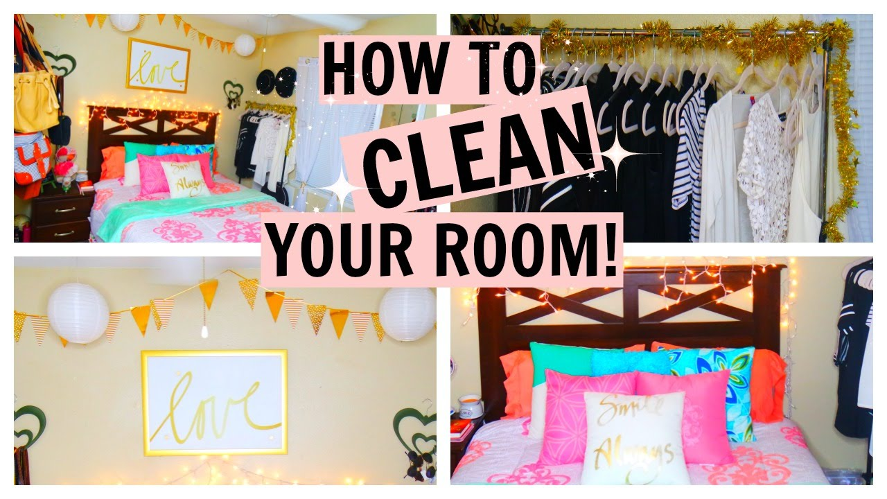How To Clean Your Room Fast How To Clean Your Room Super Fast Fair_Rah♡  Youtube