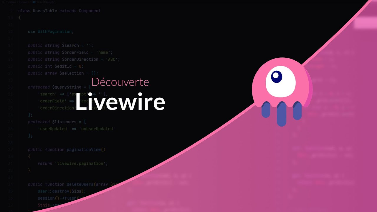 Tutoriel Laravel : Découverte de Livewire