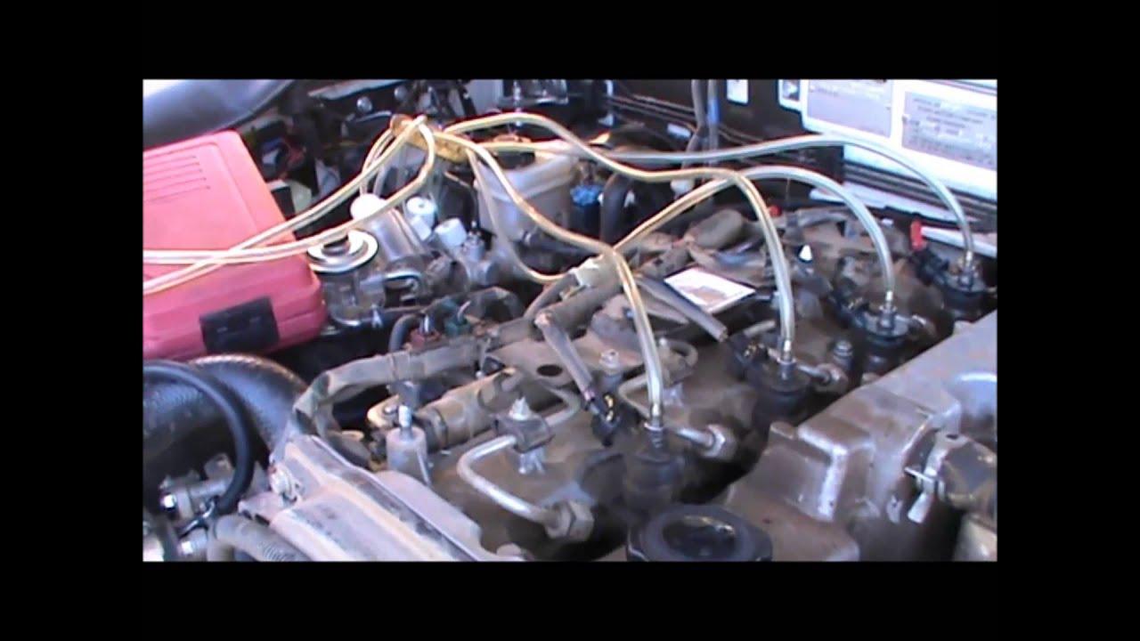 Leak Off Test For Common Rail Diesel Youtube