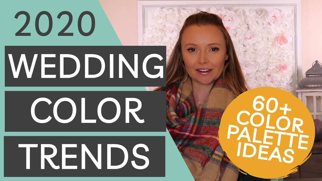 60 Wedding Color Ideas For Fall And Winter Weddings How To Pick Your Wedding Colors
