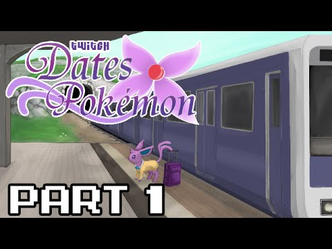 Let's Play Twitch Dates Pokemon - Part 1