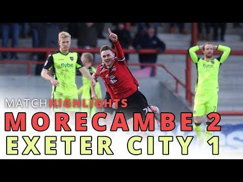 HIGHLIGHTS | Morecambe v Exeter City