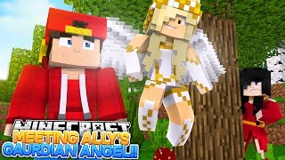 Minecraft Adventure - MEETING LITTLE ALLY'S GUARDIAN ANGEL, IS RAMONA'S PLAN WORKING?!!!