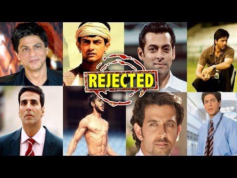 10 Blockbuster Movies Turned Down By Bollywood Actors | Shahrukh Khan | Salman Khan | Aamir Khan