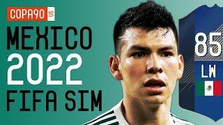 How Good Chucky Lozano & El Tri Will Be at 2022 World Cup - FIFA 18 SIM | Ep. 5