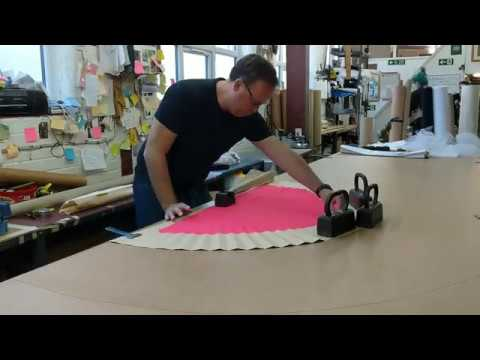 How To Make A Sunray Pleating Pattern