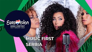 Music First with Hurricane from Serbia 🇷🇸 - Eurovision Song Contest 2021