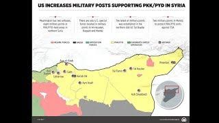 خريطة تنشرها وكالة تركية ثم تحذفها فجأة عن القوات الأميركية بسوريا..لماذا أغضبت واشنطن؟-تفاصيل