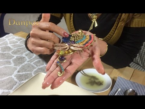 How to clean your brass handmade art jewelry from Danpae