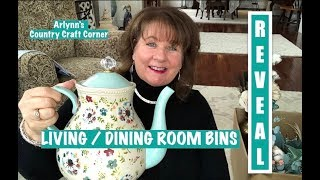 LIVING & DINING ROOMS BIN REVEAL