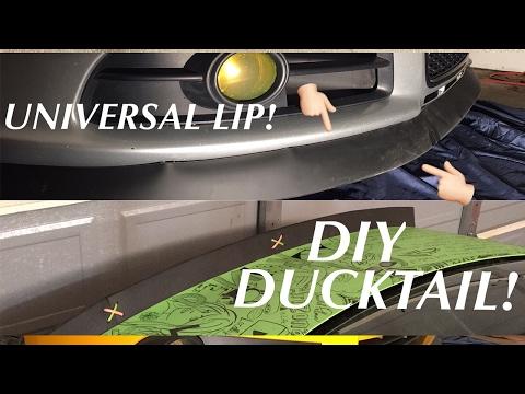 All-Fit Automotive Lip Kit Install