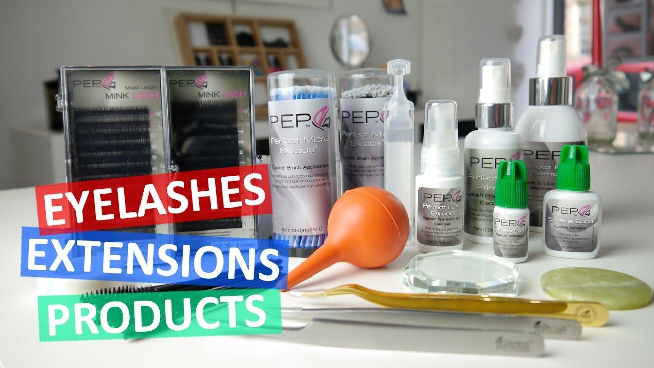 Eyelash Extensions Products Perfect Eyelashes Products Eyelash