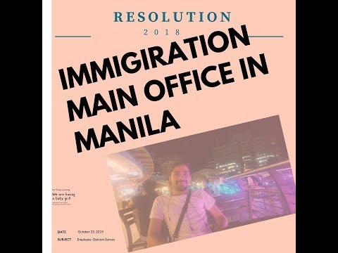 Bureau of immigiration Main Office Manila