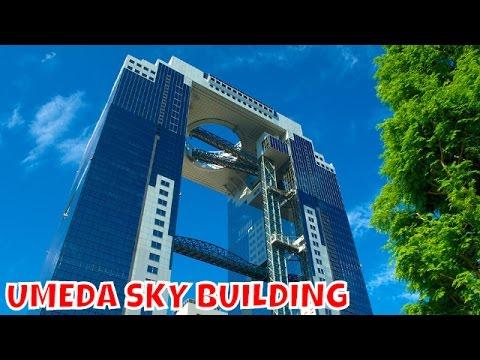 UMEDA SKY BUILDING - Vi mostro Osaka dall'alto di un palazzo bellissimo