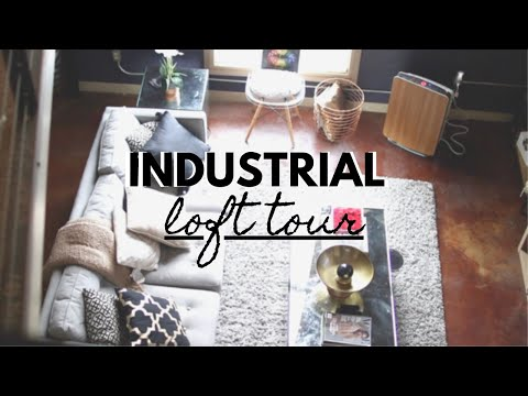 My Industrial LOFT APARTMENT TOUR 2020!! $1200/month || TheA