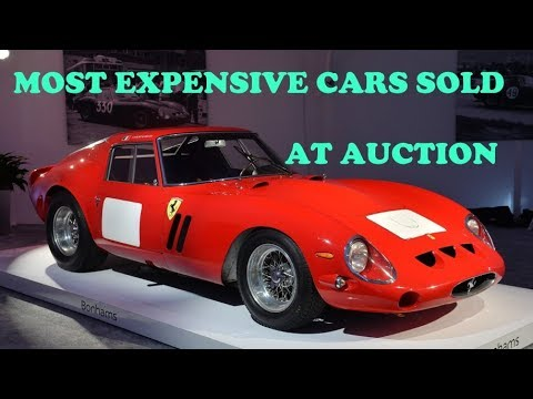 most-expensive-cars-ever-sold-at-auction---top-10