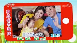 《七巧板》 20200502 家庭亲子游戏精选(一)  CCTV少儿