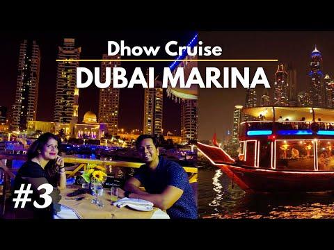 Dubai Marina   Dhow Cruise dinner Experience   Mall of Emirates   Pulak and Sangeeta