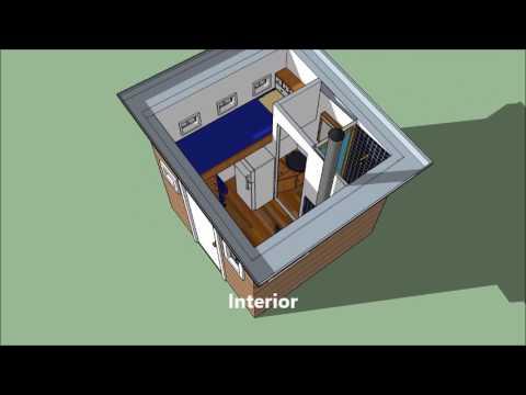 Tiny House 64 Square Feet Youtube
