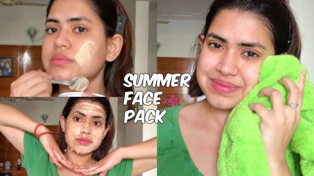 Face Pack For Dry Skin At Home In Summer - HomeLooker