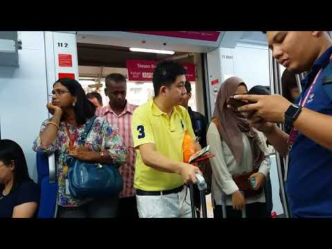 Express Rail Link New Train - Ride On CRRC Changchun Equator From KL Sentral To Salak Tinggi