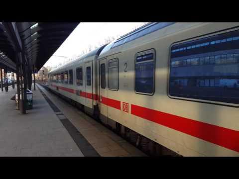 IC 2310 nach Westerland Sylt Ausfahrt in Hamburg-Dammtor(1)