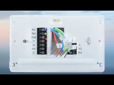 sensi wifi thermostat installation overview youtubeEmerson Sensi Thermostat Wiring Diagram #10