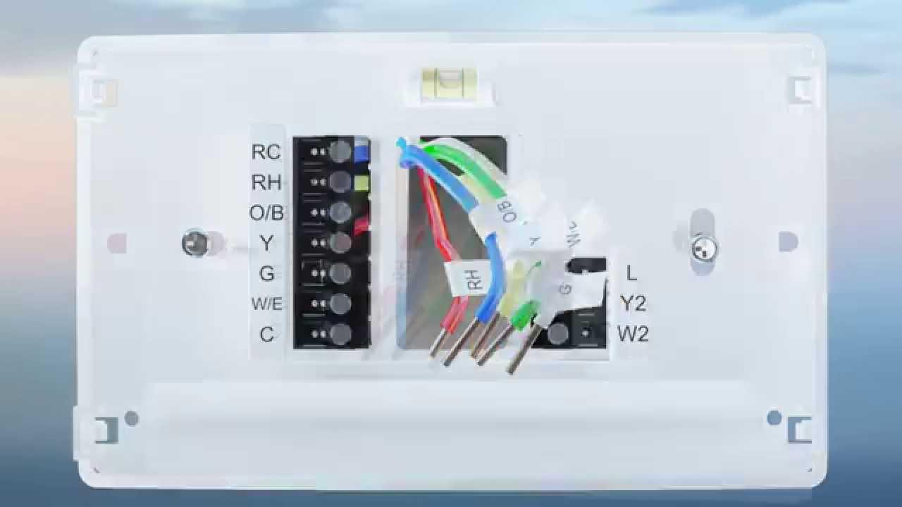 Sensi WIFI Thermostat Installation Overview  YouTube
