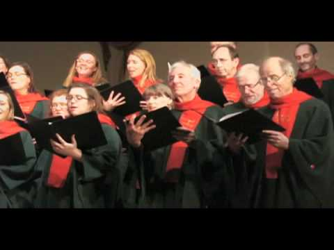 Somerset Wassail - arr: John Rutter -- sung by the Stairwell Carollers