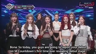 [ENG SUB] ITZY Debut Stage  Dalla Dalla - M Countdown