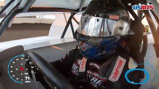 Hot Rocket: Rodney Sanders USMTS in-car from Mississippi Thunder Speedway