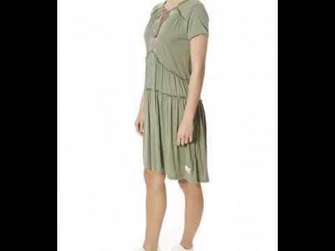 Odd Molly 'Love Chimes' Cargo Green Dress | Jessimara London