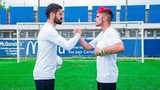 EL PEOR CHALLENGE CON ISCO ALARCÓN [REAL MADRID]