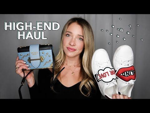 HIGH-END HAUL | Prada, Gucci, Etc & How I Afford It (!!!)