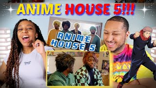 "RDCworld1 ""ANIME HOUSE 5"" REACTION!!!!"