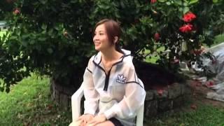 蔡卓妍 - 冰桶挑戰