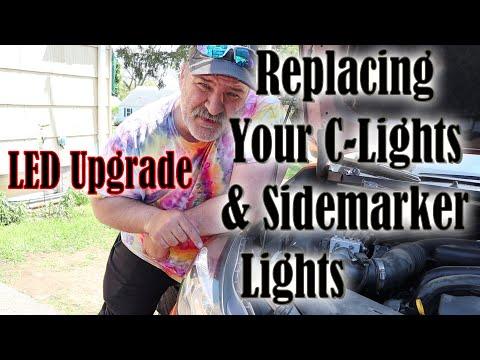 2013-2017 Subaru Crosstrek How to replace Front C-Lights and Sidemarker Lights