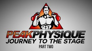 Peak Physique Natural Bodybuilding Documentary: A Natural Bodybuilders Journey to the Stage - Part 2