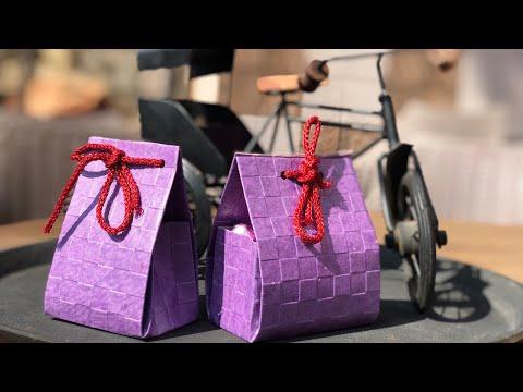 Paper Bag Tutorial | How to make Gift Bag | Chocolate bags