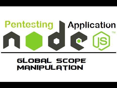 7. node web server - Global Scope Manipulation