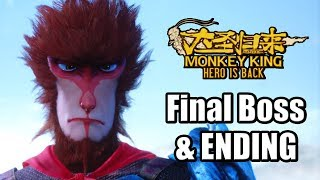 Monkey King: Hero is Back (2019) Final Boss, ENDING, Credits, & Post Credit Scene | PS4 PRO Gameplay