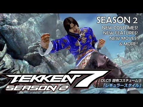 TEKKEN 7 - Season 2 Overview Trailer! 💥 New Costumes, New Moves, New Features! (60ᶠᵖˢ/1080ᵖ) ✔️